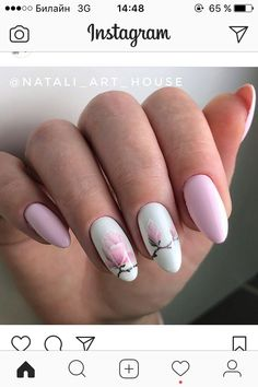 On average, the finger nails grow from 3 to millimeters per month. If it is difficult to change their growth rate, however, it is possible to cheat on their appearance and length through false nails. Manicure Nail Designs, Nail Manicure, Nail Art Designs, Nail Polish, Wow Nails, Cute Nails, Pretty Nails, Perfect Nails, Gorgeous Nails