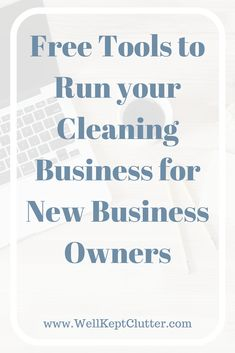5 Free Business Tools to Run Your Cleaning Business - Well Kept Clutter - - Don't waste money on expensive tools to run your business. Here is a list of 5 Free business tools you can use and still look and run a professional cleaning business. House Cleaning Jobs, Professional House Cleaning, House Cleaning Checklist, Diy Home Cleaning, Cleaning Companies, House Cleaning Services, Diy Cleaning Products, Cleaning Contracts, Commercial Cleaning Company
