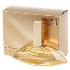perfume de mujer euphoria gold calvin klein 100 ml original