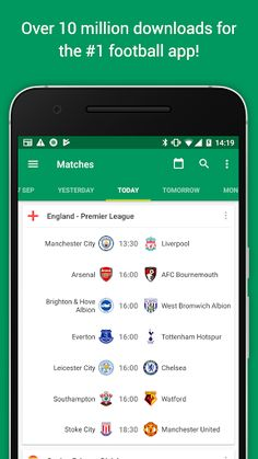 FotMob Pro v63.0.3864.20171006 [Paid]   FotMob Pro v63.0.3864.20171006 [Paid]Requirements:4.1Overview:The #1 football app offering real time scores news and breaking news notifications from your favorite teams  FotMob covers World Cup 2018 Premier League Championship League 1&2 National North&South La Liga Bundesliga Champions League and all the major leagues and tournaments in the world over 200 leagues in total!  Over 10000000 people already installed FotMob. Join them now and experience…