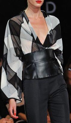 Fashion details | Comment: Lux Plaid. Les Copains