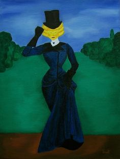Hana Szarowski (©2014 artmajeur.com/hana-szarowski) The Sun Undercover is acrylic painting inspired by fashion of the 19th century. This painting plays with the idea of Sun as a being. What if the Sun would have been kind and elegant being - lady with hidden weakness for cloudy or even stormy weather. Maybe it would have been her personal joke. Or maybe she would have been just a little stubborn.