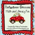 This 106 page unit is filled with 30 different MATH and LITERACY activities to utilize with your little