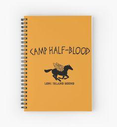 Camp Halfblood Cuaderno de espiral