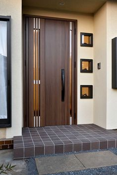 Are you looking for the best wooden doors for your home that suits perfectly? Then come and see our new content Wooden Main Door Design Ideas. Wooden Main Door Design, Modern Wooden Doors, Front Door Design, Intarsia Woodworking, Woodworking Workbench, Woodworking Projects, Woodworking Furniture, Woodworking Beginner, Woodworking Organization