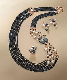 Diy Jewelry Necklace, Boho Jewelry, Jewelry Art, Wedding Jewelry, Jewelery, Beaded Necklace, Fashion Jewelry, Gems Jewelry, Urban Jewelry