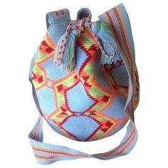 Multi-coloured MISS MOCHILA Multicolour in Cotton Spring / Summer - 671927