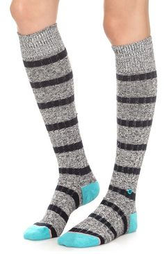 pretty striped boot socks  http://rstyle.me/n/px2dipdpe