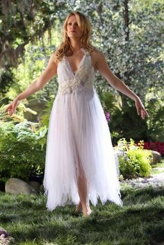 Sookie Stackhouse is so ethereal, all the while her body is dying in the hospital.....
