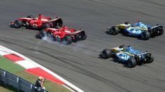 Formule 1 : GP de Chine 2006, la dernière de Schumacher
