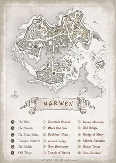 Marwen city map