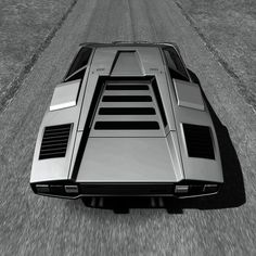Visit The MACHINE Shop Café... ❤ The Best of Lamborghini... ❤ (The Lamborghini Countach LP400)