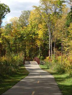 Hudson Mills Park Dexter Michigan