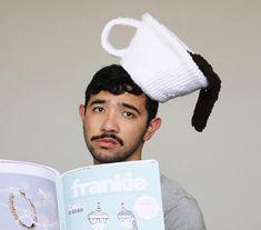 Aussie artist crochets foodie hats as a way to meet new friends | Inhabitat - Green Design, Innovation, Architecture, Green Building