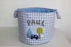 """Spielzeug-Tasche """"Kleine Welt"""" mit Name von Milla Louise auf DaWanda.com"""