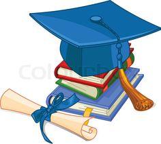 graduation clip art free graduation clipart graphics students rh pinterest com Black Cap and Diploma Clip Art cap and diploma clipart