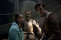 Doctor Who - The Doctor, the Widow and the Wardrobe Doctor Who Tv, Eleventh Doctor, Dr Who 11, Fictional Heroes, Dr Mike, Sci Fi Series, Scary Monsters, Geronimo, Time Lords