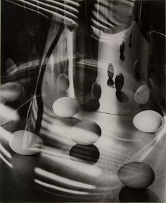 Carlotta Corpron Eggs Encircled, gelatin silver print, 1948 © 1988 Amon Carter Museum, Gift of the Dorothea Leonhardt Fund of the Communities Foundation of Texas, Inc Monochrome Photography, Abstract Photography, Black And White Photography, Notes From Underground, Jeanloup Sieff, Egg Photo, Gordon Parks, Different Kinds Of Art, Photo Work