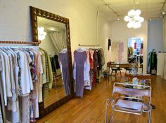 Mafalda -- Remarkably, Mafalda is an entirely one-woman effort, run solely by its owner Christina. The showroom boasts one-of-a-kind fashion rarities as well as more affordable everyday pieces. Located in sleepy Boerum Hill, this boutique shares a street with a few other fashion and consignment destinations. Not to miss if you're in the neighborhood, but certainly worth the trip even if you're not. 360 Atlantic Avenue, Brooklyn, 347-987-3470
