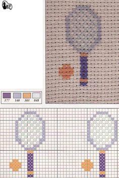 ponto cruz Cross Stitch Baby, Cross Stitch Animals, Needlepoint Patterns, Le Point, Plastic Canvas, Perler Beads, Needlework, Free Pattern, Retro