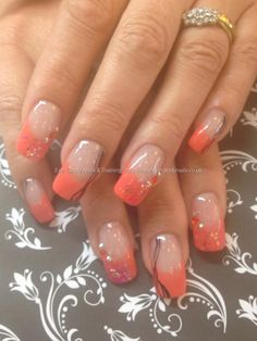 Gel no 3 with glitter, Swarovski crystals and black freehand nail art