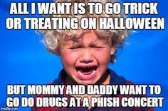 Phish Parent problems