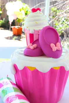 Minnie Mouse Candyland birthday party! See more party ideas at CatchMyParty.com!