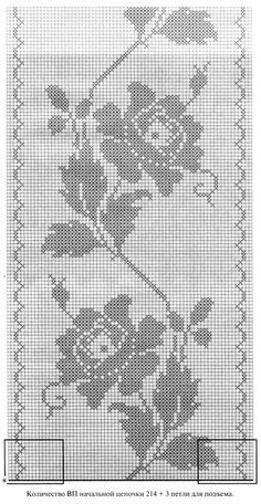 1 million+ Stunning Free Images to Use Anywhere Crochet Curtain Pattern, Crochet Curtains, Curtain Patterns, Crochet Motif, Crochet Doilies, Crochet Patterns, Tiny Cross Stitch, Cross Stitch Designs, Cross Stitch Patterns