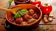Boulettes et sauce tomate | Zeste