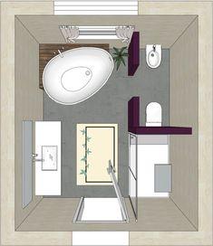 Idée décoration Salle de bain  Plan pour une salle de bain.