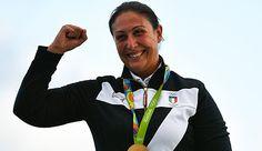 Diana Bacosi , Italien vann guldet i damernas skeet (skytte) över landsmaninnan Chiara Cainero, brons Kimberly Rhode, USA.