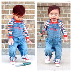 Good guy chucky costume toddler