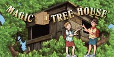 This is Mary Pope Osborne's official site and has a link that will take you directly to the Magic Tree House game/activity site. It is unbelievably fun and I am an adult!