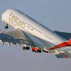Airbus A 380 Fly Emirates HD Desktop Wallpaper