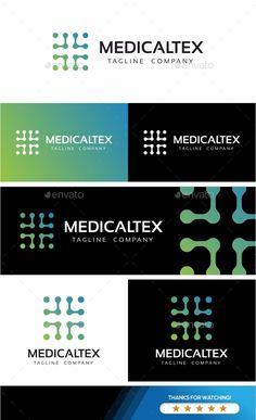Medical Cross Technologies Logo Template Vector EPS, AI Illustrator