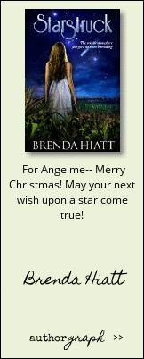 """Authorgraph from Brenda Hiatt for """"Starstruck"""""""