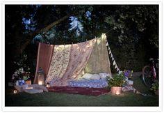 Cute idea for a girls birthday party or sleepover!