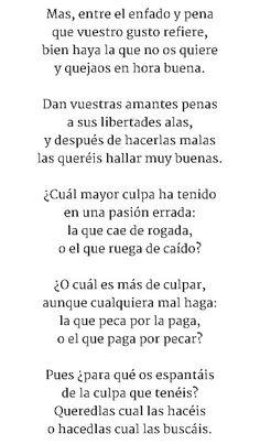 REDONDILLAS  - Poema 3/4 Sor Juana Inés de la Cruz