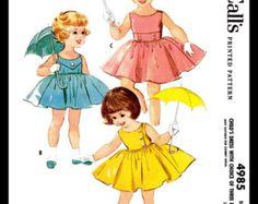 Advance 7062 Vintage Sewing Patterns Sundress Pattern