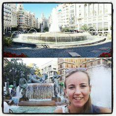 Plaza del ayuntamiento y Plaza de la virgen - valencia