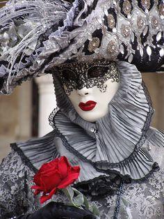 Venice Carnival 2015 by Lesley McGibbon Venice Carnival Costumes, Venetian Carnival Masks, Carnival Of Venice, Venetian Masquerade, Masquerade Party, Masquerade Masks, Venice Carnivale, Venice Mask, Mardi Gras