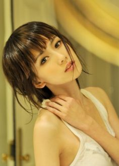 pinterest.com/fra411 #asian #beauty  Bangs