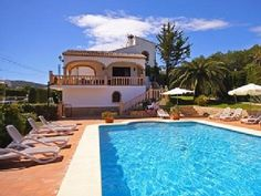 Villa Pinosol Holiday Rental in Javea from @HomeAway UK #holiday #rental #travel #homeaway