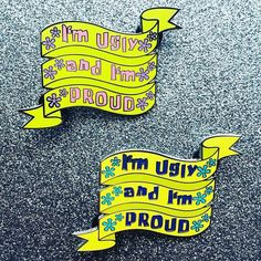 Repost @cherrymagicclub Just got my Ugly and Proud Spongebob pins in! Sending out preorders today!! Theyre in stock now at cherrymagicclub.com and etsy! #bbllowwnnup (Posted by https://bbllowwnn.com/) Tap the photo for purchase info. Follow @bbllowwnn on Instagram for the best pins & patches!