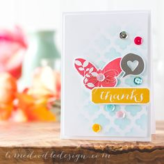 Awesome card created by Debby Hughes New using stamps, stencils and dies by Simon Says Stamp released for the Pure Sunshine release.  May 2014