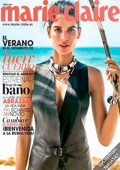 Marie Claire España - Junio 2016 - El verano es momento de lucir cuerpo, estrenar traje de baño
