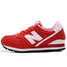 Latest Listing Cheap New Balance NB All Red White Logo For Women Shoes Casual shoes Shop New Balance Sneakers, New Balance Shoes, Nike Shoes Cheap, Nike Free Shoes, Nb Shoes, Shoes Sneakers, Nike Kd Vi, New Balance Red, Sneakers