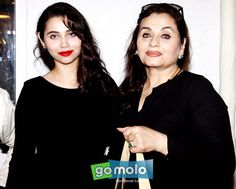 Sasha Agha & Salma Agha at the Launch of 'Perfect Miss India' contest in Mumbai