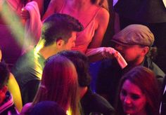 Pin for Later: Leonardo DiCaprio's Latest Cannes Trip Is Just What You'd Expect  Leo partied with Robin Thicke at the Gotha Club on Wednesday.
