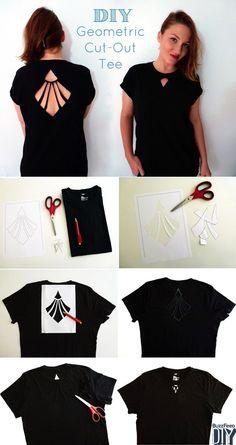 Fiz uma página no facebook a Estilo DIY onde você encontra várias maneiras de customizar roupas. Aqui separei algumas ideias de como renovar...